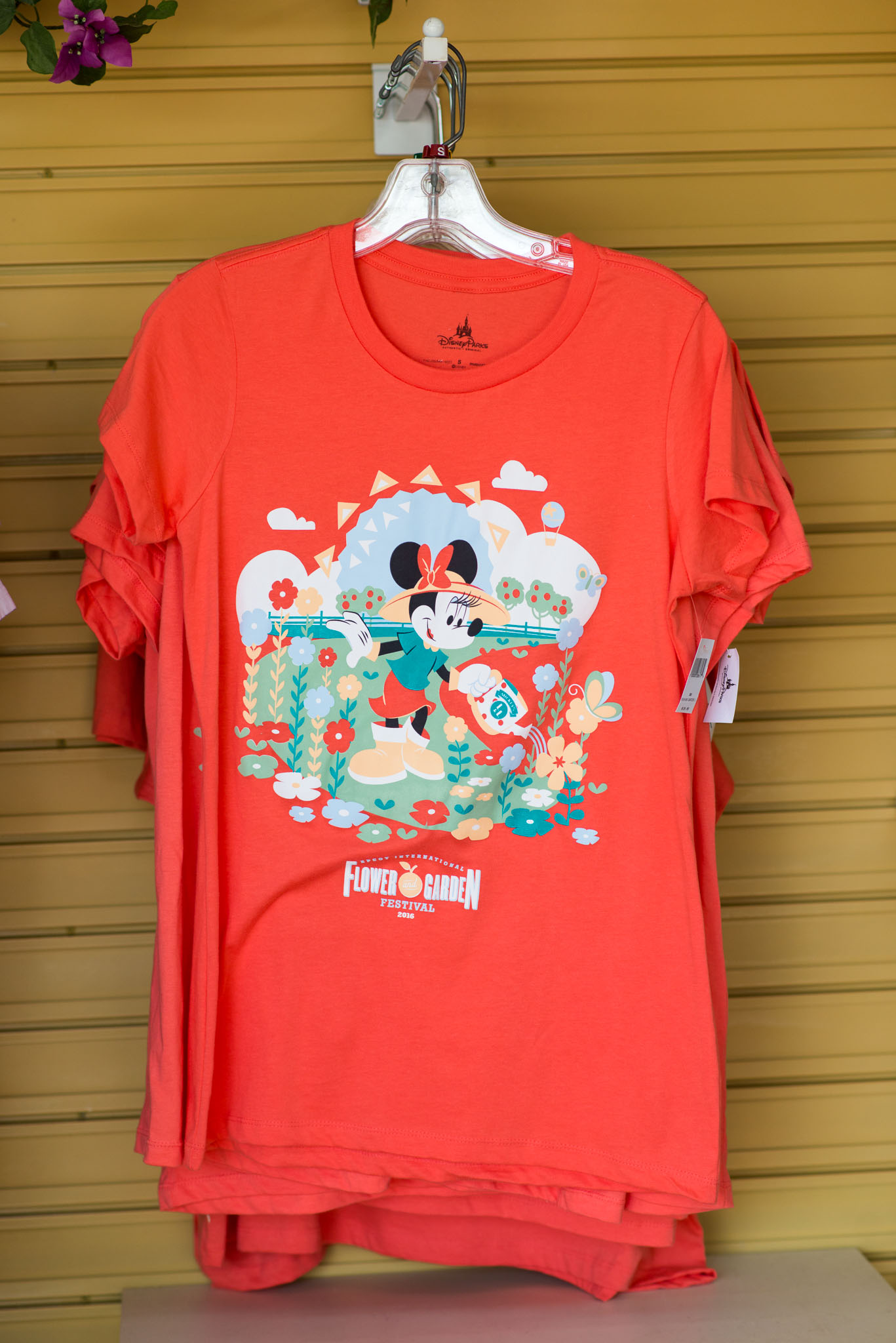 Red T-Shirt - Epcot Flower & Garden Festival 2016