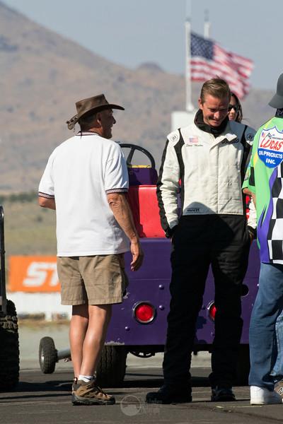 Tiger Destefani (Strega Owner) and Steve Hinton (Voodoo) Before the Gold Race