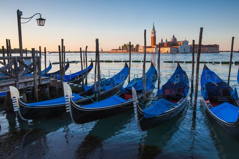 St. Mark's Sunrise , San  Giorgio Maggiore , Venice