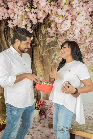 56. Sesión de Embarazda de Claudia y Carlos esperando a Bejamin