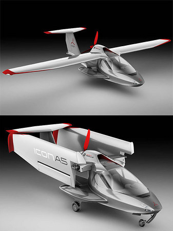 ICON A5 And Cirrus Jet