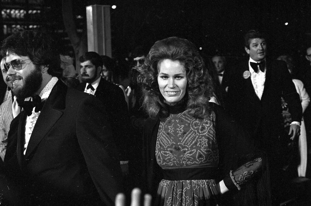 """. Karen Black, nominated for best supporting actress for her role in \""""Five Easy Pieces,\"""" arrives at the Academy Awards presentations in Los Angeles, April 15, 1971.  (AP Photo)"""