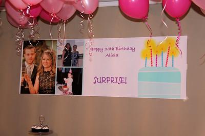 Alicia's 30th
