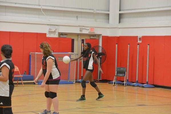Pierson vs. Hampton Bays Volleyball 2012