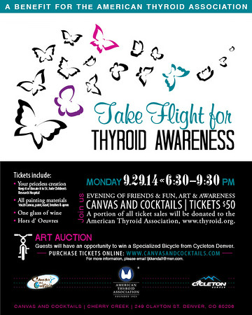 Take Flight For Thyroid Awareness