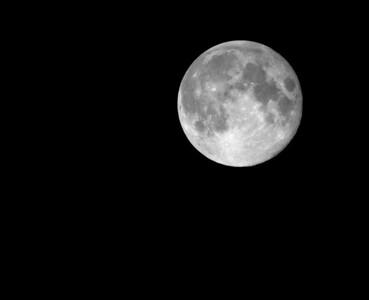 Harvest Moon over Philadelphia