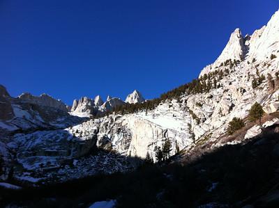 Blue Ice / Rattlesnake Peak - December 26, 2011