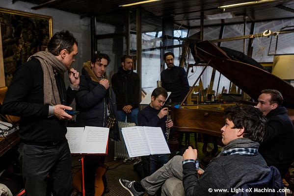 Hot Sugar Band recording (2014-02-27)