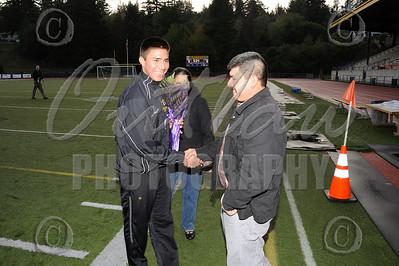 Varsity Soccer - Senior Night Oct 27 - MHS vs Willamette