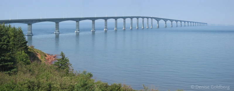 Confederation Bridge to Summerside, Prince Edward Island
