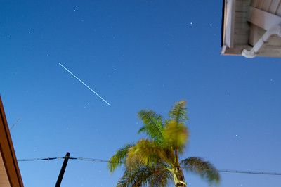 (ISS) International Space Station Flyby 7/6/2009