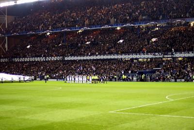 Glasgow Rangers vs Olympique Lyonnais