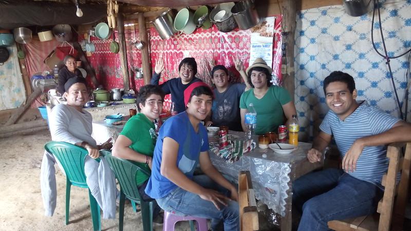 """SAC-Hütte"" in Trigales (Toniná)/Guatemala"