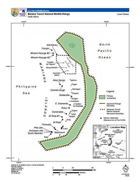 Marianas Trench Marine National Monument