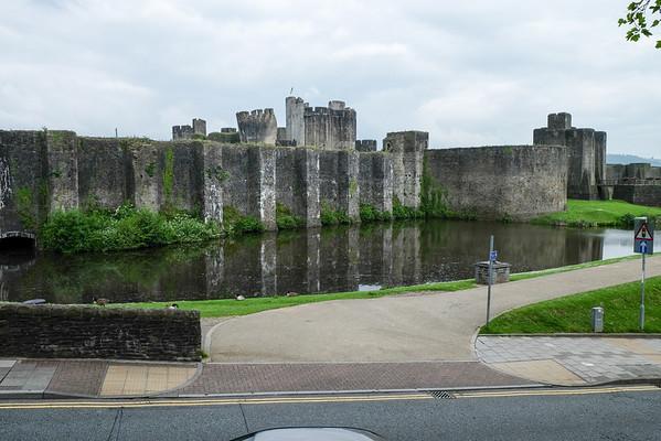 Caerphilly Castle - June 2014