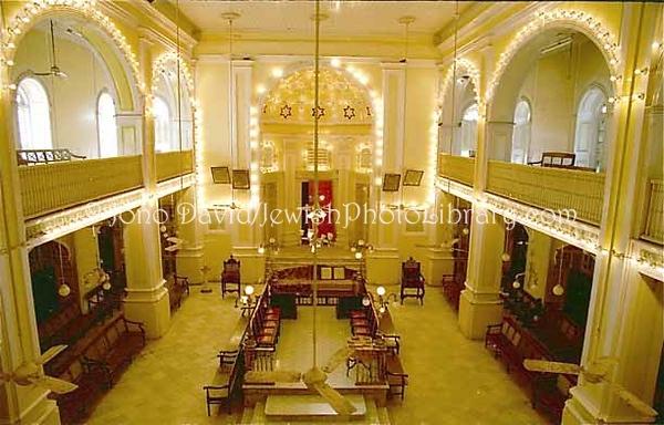 INDIA, Mumbai (Bombay). Magen David Synagogue, 1861. (2001)