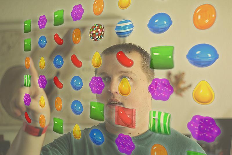 Candy Crush Brainwash.... 160/365 7/10/13