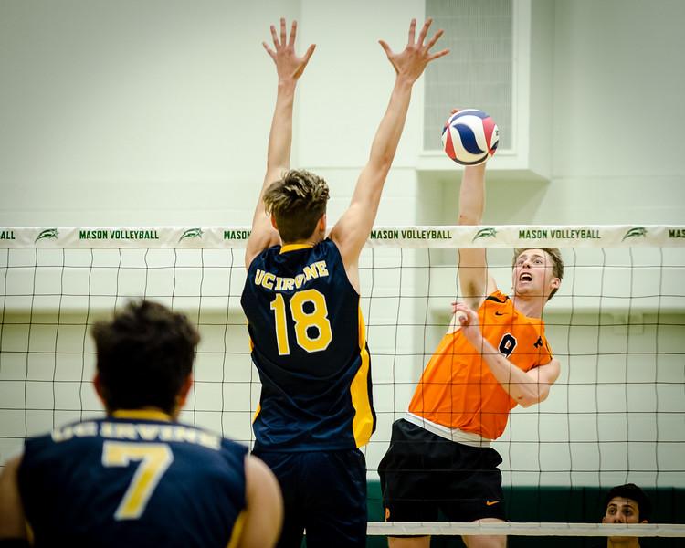 Princeton vs. UC Irvine Volleyball 1.11.19