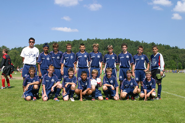 USA - United Soccer Academy - Matches - Goteborg, Sweden, July 15 2002
