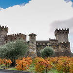 Castello di amorosa, Napa Valley, California, USA