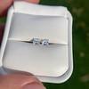 1.47ctw Carre Cut Diamond Pair GIA F VS2 30