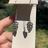 1.50ctw (est) Victorian Leaf Component Earrings 13