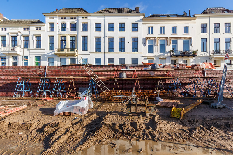 Renovatie IJsselkade augustus 2017 - december 2017