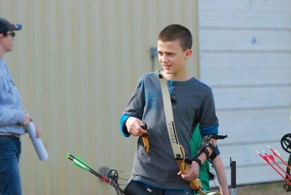 Archery ptactice 011214