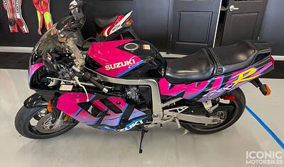 Suzuki GSX-R750 Tiger Stripe on IMA