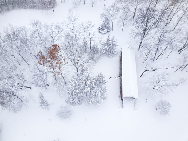 Winter in Winterset Park