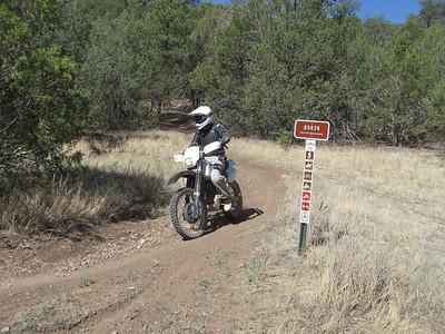 Cedro Peak area-Oak Flat-Pine Flat ST Ride  4-29-13