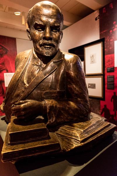 Bronze Bust of Lenin