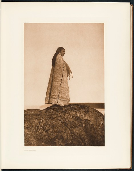 The North American Indian, vol. 9 suppl., pl. 323. Cowichan girl
