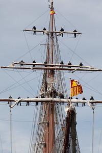 2011 03 21 spanisches Segelschulschiff besucht Hamburg