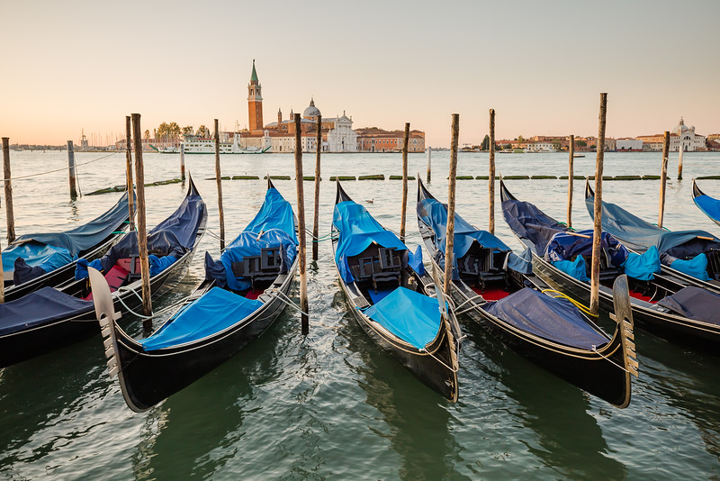 Boats in Venice Italy - best places to visit in September
