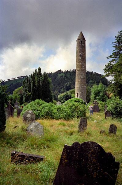 Wicklow round tower