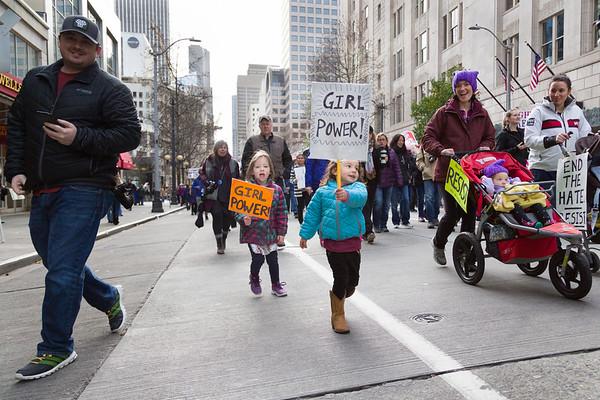 Seattle Womxn's March 2019