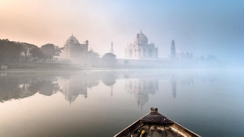 Boat Ride on the Yamuna Taj Mahal.jpg