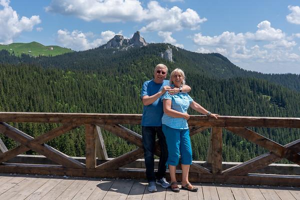 Climbing in Rarau, Romania - 2019