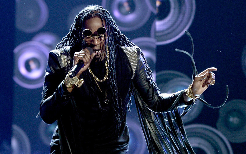 . Rapper 2 Chainz performs onstage during the 2013 BET Awards at Nokia Theatre L.A. Live on June 30, 2013 in Los Angeles, California.  (Photo by Kevin Winter/Getty Images for BET)