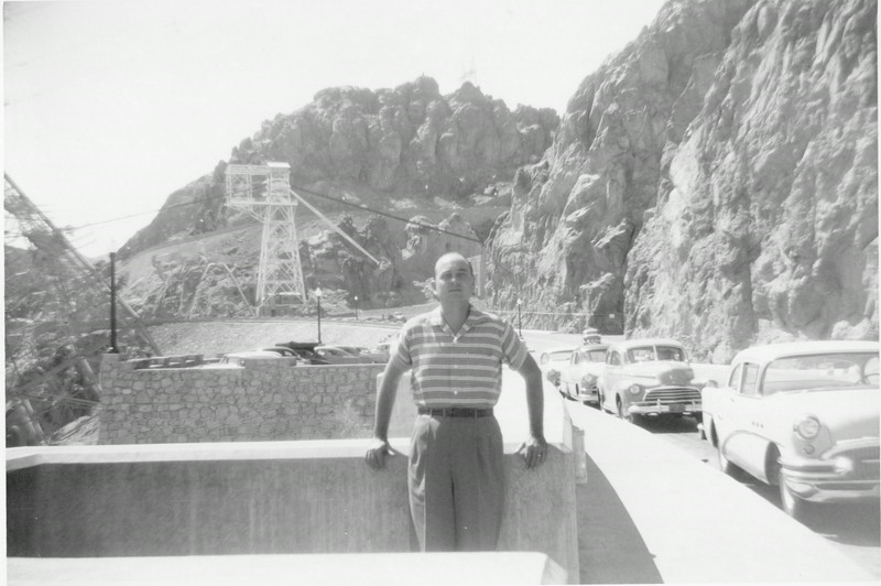 Rayburn Howell, possibly at Hoover Dam