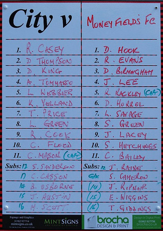 Winchester City (0) v Moneyfields (0) 3.8.2013