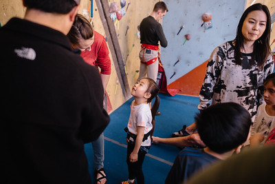 Sophie's Birthday Rock Climbing Party