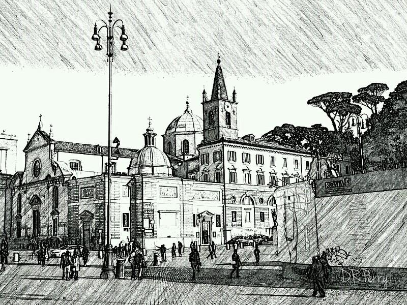 """""""Piazza del Popolo"""" - Roma"""