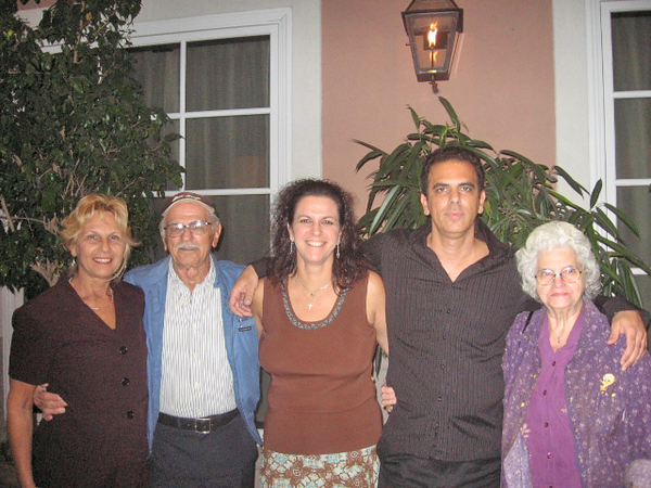 Joyce, Dad, Dawn, Dana, Rose Jesse Graduation Oct 2006