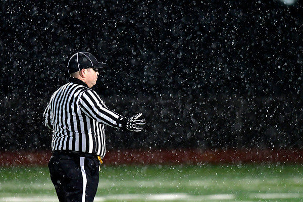 11/9/2018 Mike Orazzi | Staff Friday night football in Bristol.