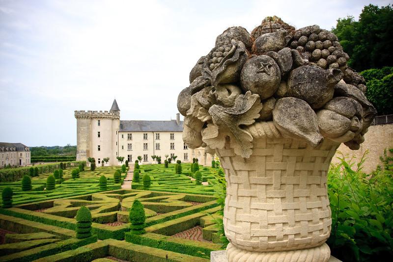 Gardens at Chateau Villandry