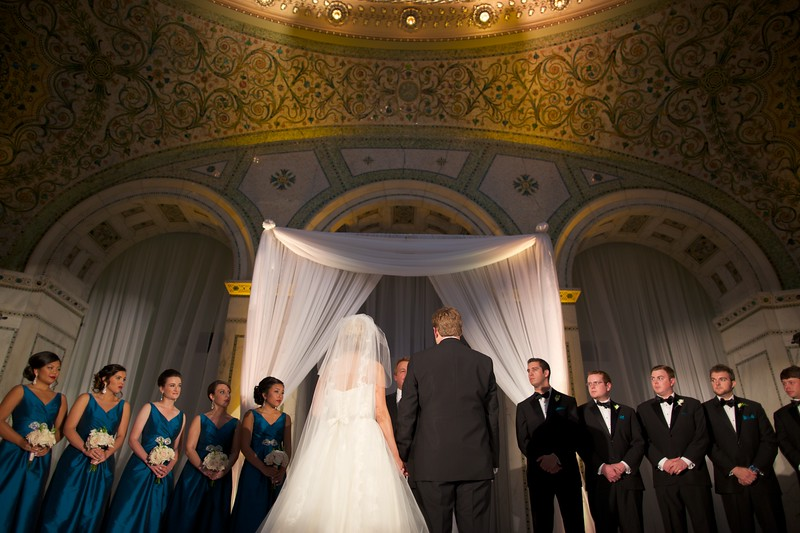 Le Cape Weddings - Chicago Cultural Center Weddings - Kaylin and John - 014 Ceremony 66