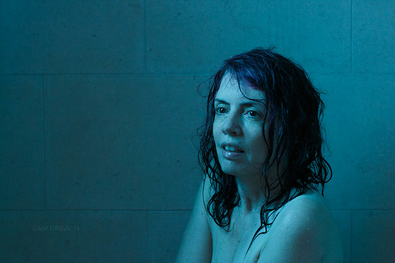 Pensive Wry Wet Woman in the bath tub photographed by Sam Breach 2020974C2829.jpg