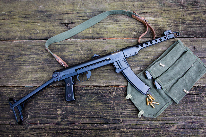 Polish reproduction of the PPS-43. I submitted my tax stamp so I can extend the stock as an SBR.